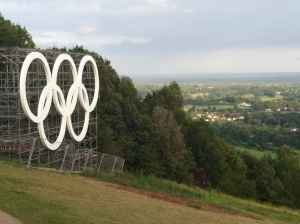 Olympic Cyrcles at Box Hill @ fabulous outdoors