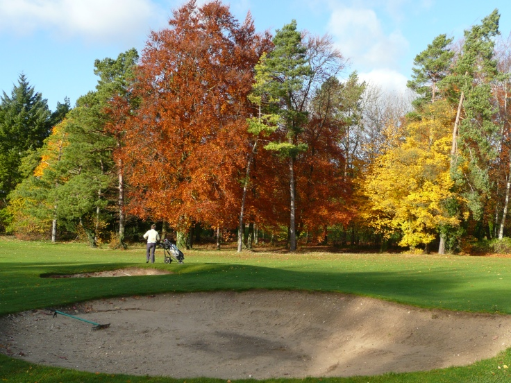 Autumn Colours at the Golf Club