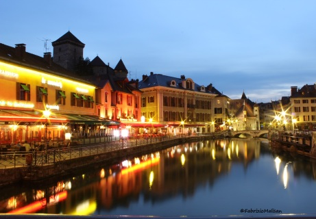 I love Annecy Le Vieux, particularly at night ..lovely romantic atmosphere!