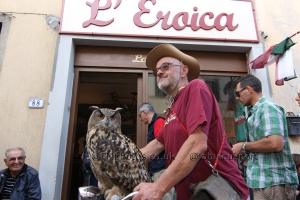 L'Eroica 2014 Photos Owl Cyclist Eroica 2014 Vintage Cycling ©FMphotosCoUk IMG_0434