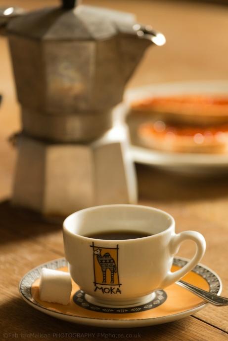 Italian Coffee Break Homemade Caffé Italiano Moka