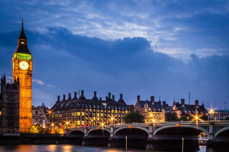London at night - Fabulous Outdoors