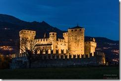 Castello di Fenis Valle d'Aosta italy