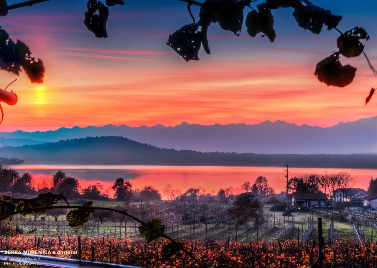 Lago di Viverone Red Sunset Serra Morenica e dintorni by Fabulous Outdoors