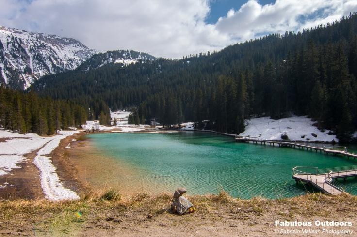 Lac de la Rosiere Courchevel Savoie France