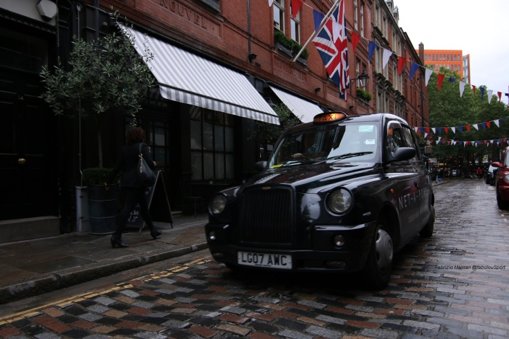Covent Garden London Monmouth Street Taxi Cab