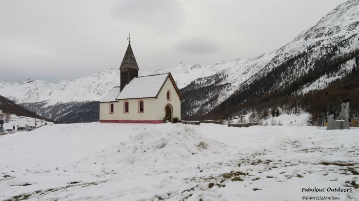 Chiesetta di Maso Corto Val Senales Schnalstal Trentino Alto Adige Italy