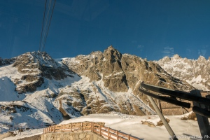 Skyway Monte Bianco Courmayeur Mont Blanc Valle d'Aosta Valley Italy