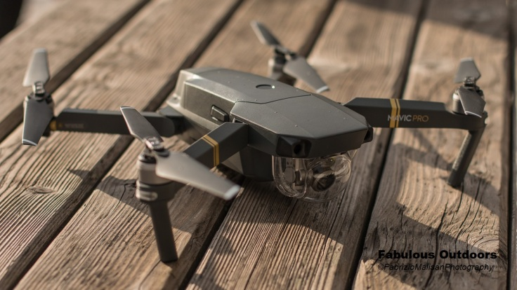 Dji Mavic Pro drone tested by Fabulous Outdoors @fabulousport