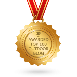 Fabulous Outdoors Blog rated amongst the Top 100 Outdoor Blogs by Feedspot