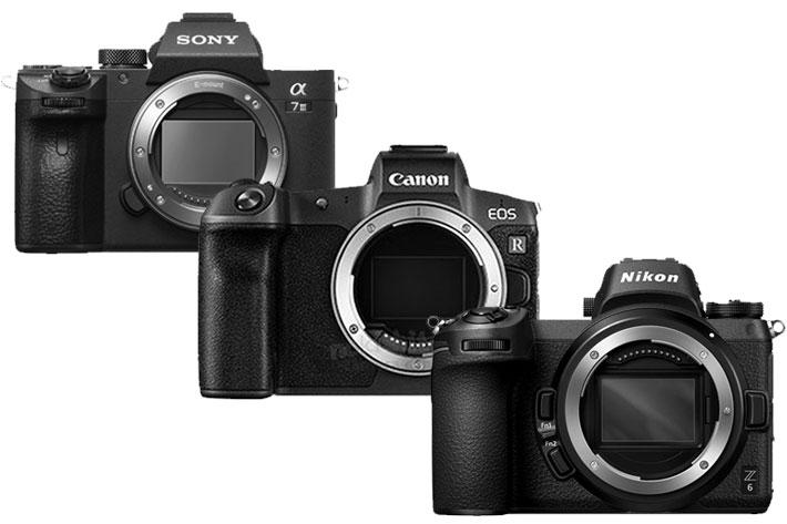 Canon EOS R Nikon Sony Mirrorless 4K Digital camera review 2018