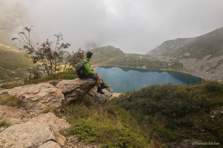Hiker's Landscape View