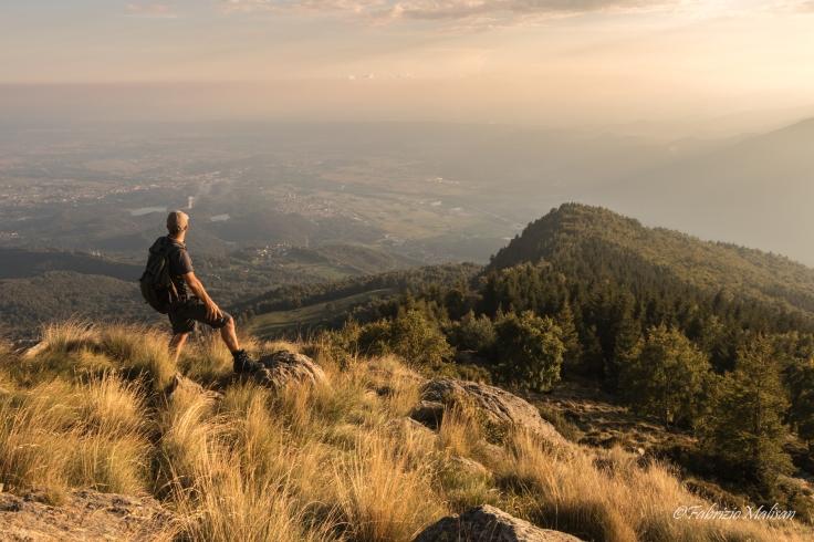 Hiking mountains at sunset - Fabulous Outdoors
