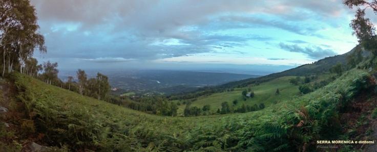 Panorama Bric Paglie Serra Morenica e dintorni