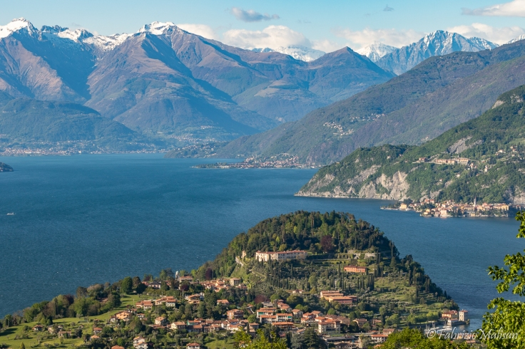 Landscapes of Bellagio Lake Como, Lombardia, Italy