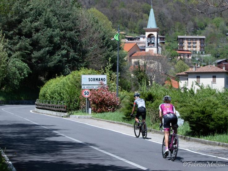 Paola Gianotti 2019 Ricognizione Tappa 15 Ceresole Ghisallo Sormano Lago di Como Giro d'Italia-8786