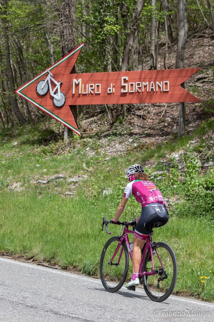 Paola Gianotti 2019 Ricognizione Tappa 15 Ceresole Ghisallo Sormano Lago di Como Giro d'Italia-8803