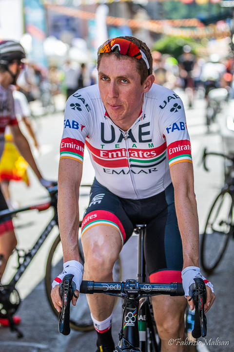 Dan Martin of UAE Team Emirates spinning his legs towards the Tour de France 2019