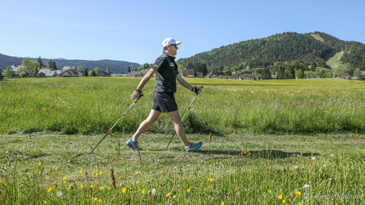 Nordic Walking in Vercors France